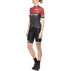 Bikester Pro Race - Ensemble Femme - rouge/noir